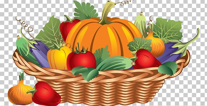 Thanksgiving Basket Fruit Turkey PNG, Clipart, Calabaza.