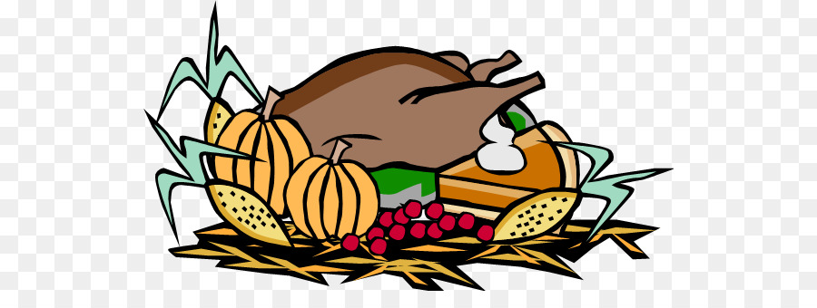 Turkey, Thanksgiving, Food, transparent png image & clipart.
