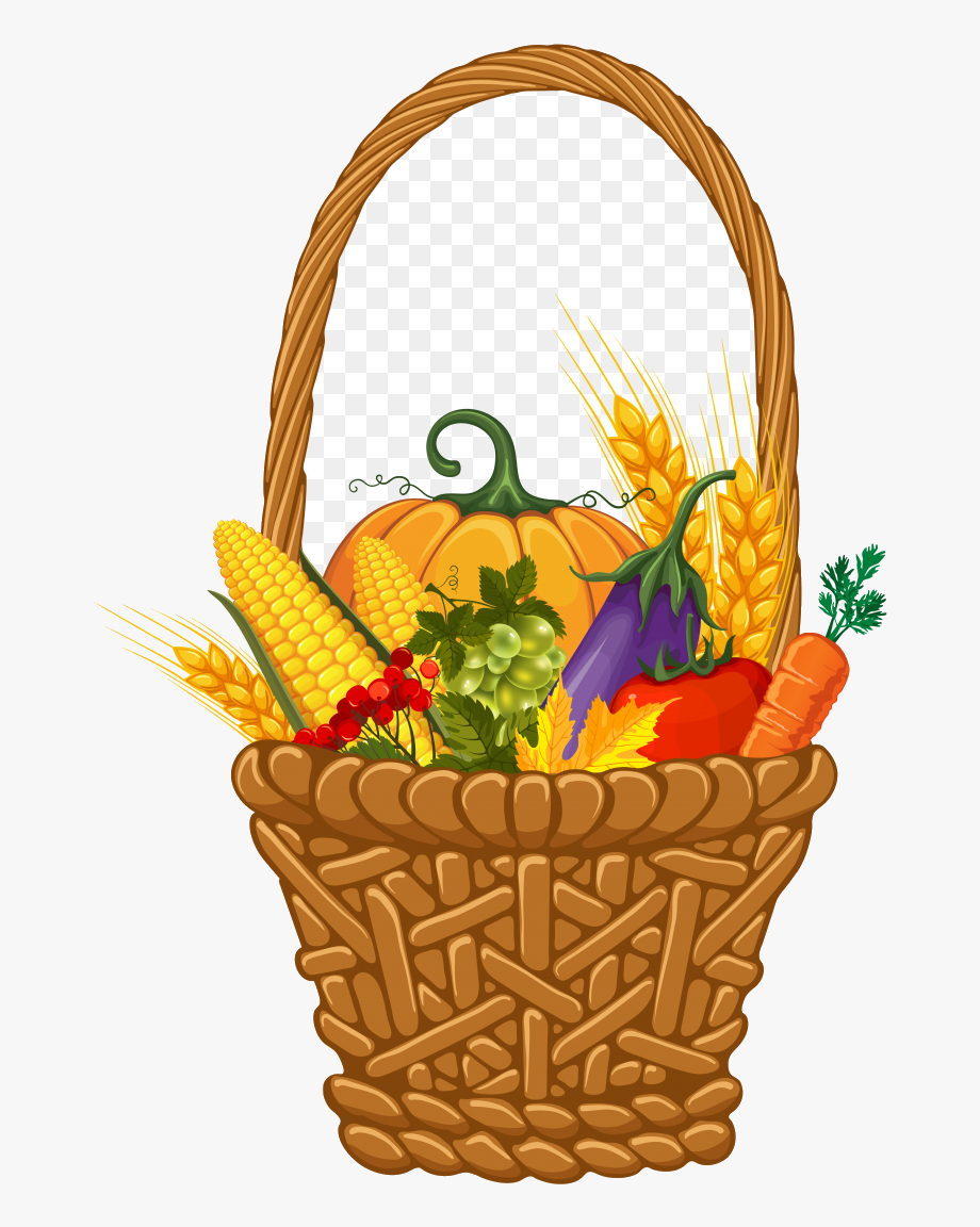 Cornucopia X Thanksgiving Clip Art Basket Clipart.