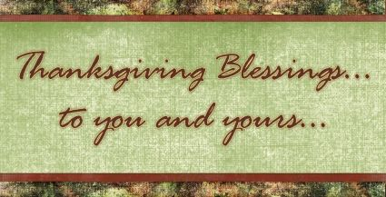 Thanksgiving Blessing Clipart.