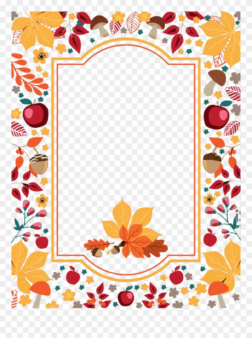 Awesome Thanksgiving Border Image Inspirations.