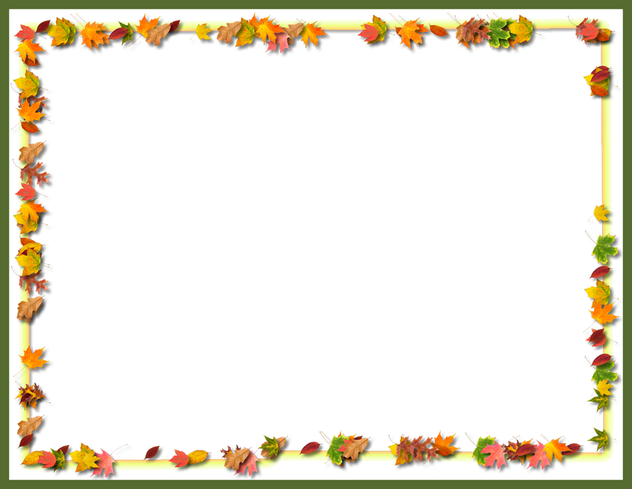 HD Free Stock Awesome Thanksgiving Border Of B Png.