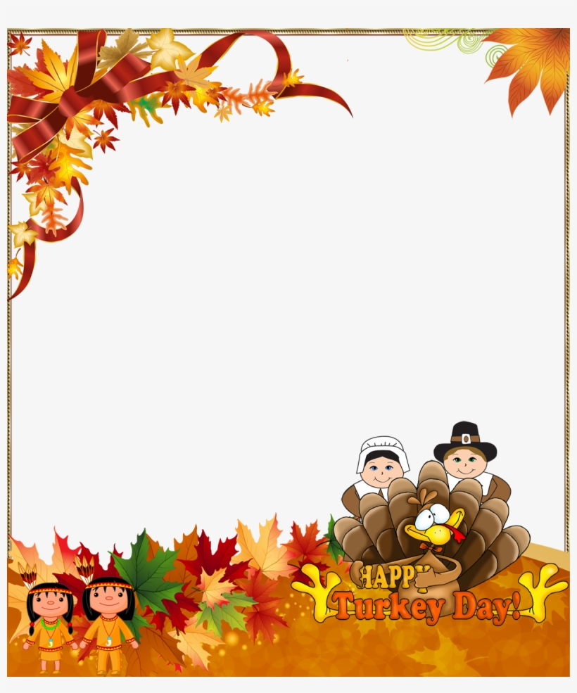 Thanksgiving Border Png.