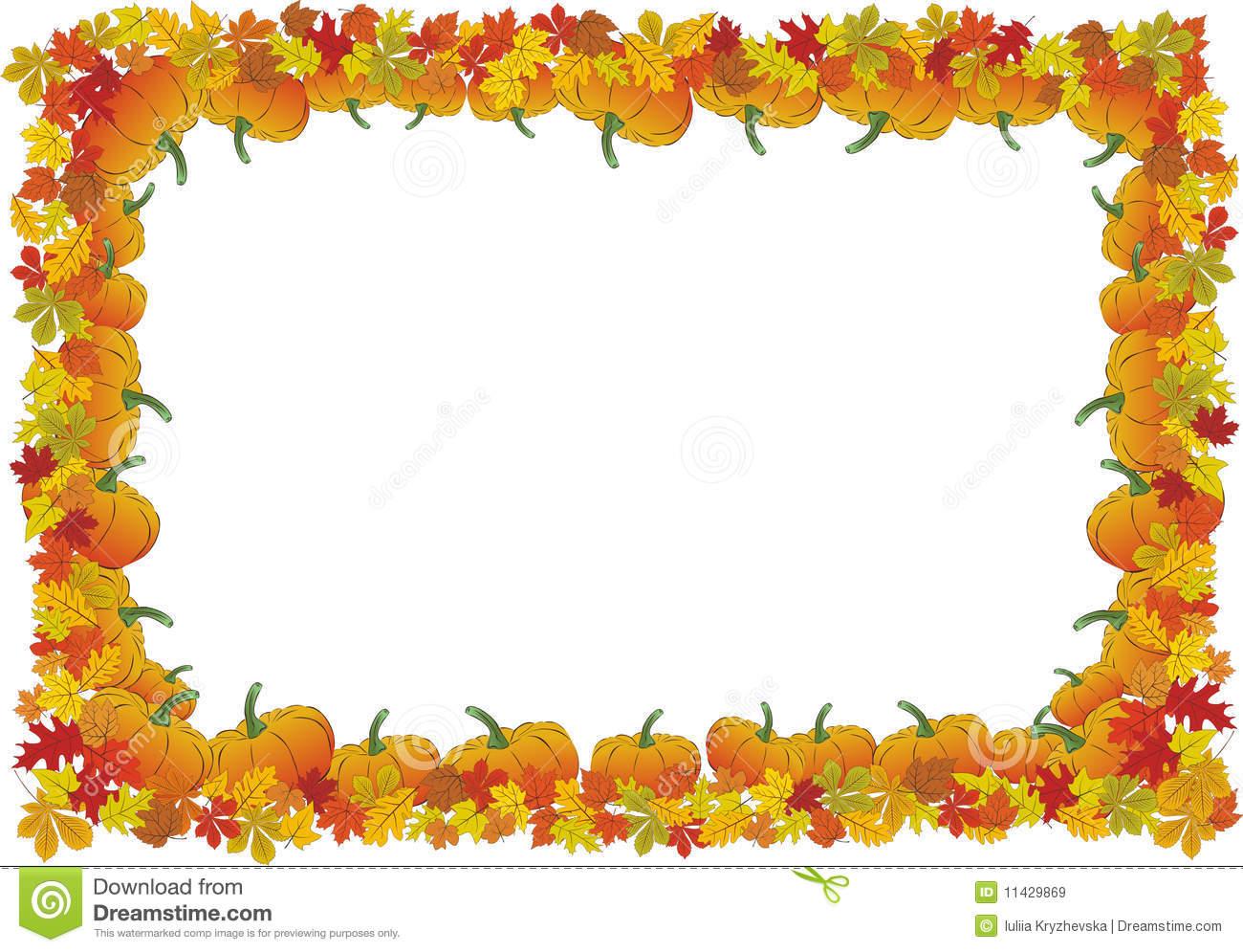 45+ Thanksgiving Borders Clip Art Free.
