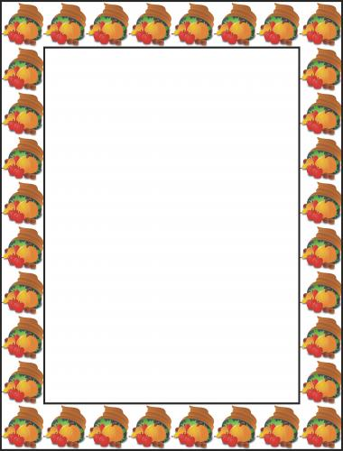 47+ Thanksgiving Borders Clip Art Free.