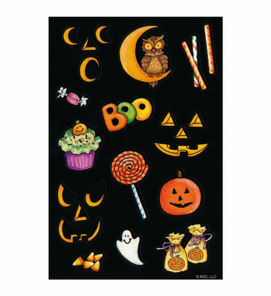 Black Cat Halloween Greeting Card.