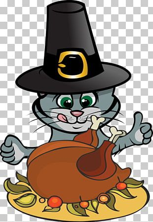 Thanksgiving Cats PNG Images, Thanksgiving Cats Clipart Free.