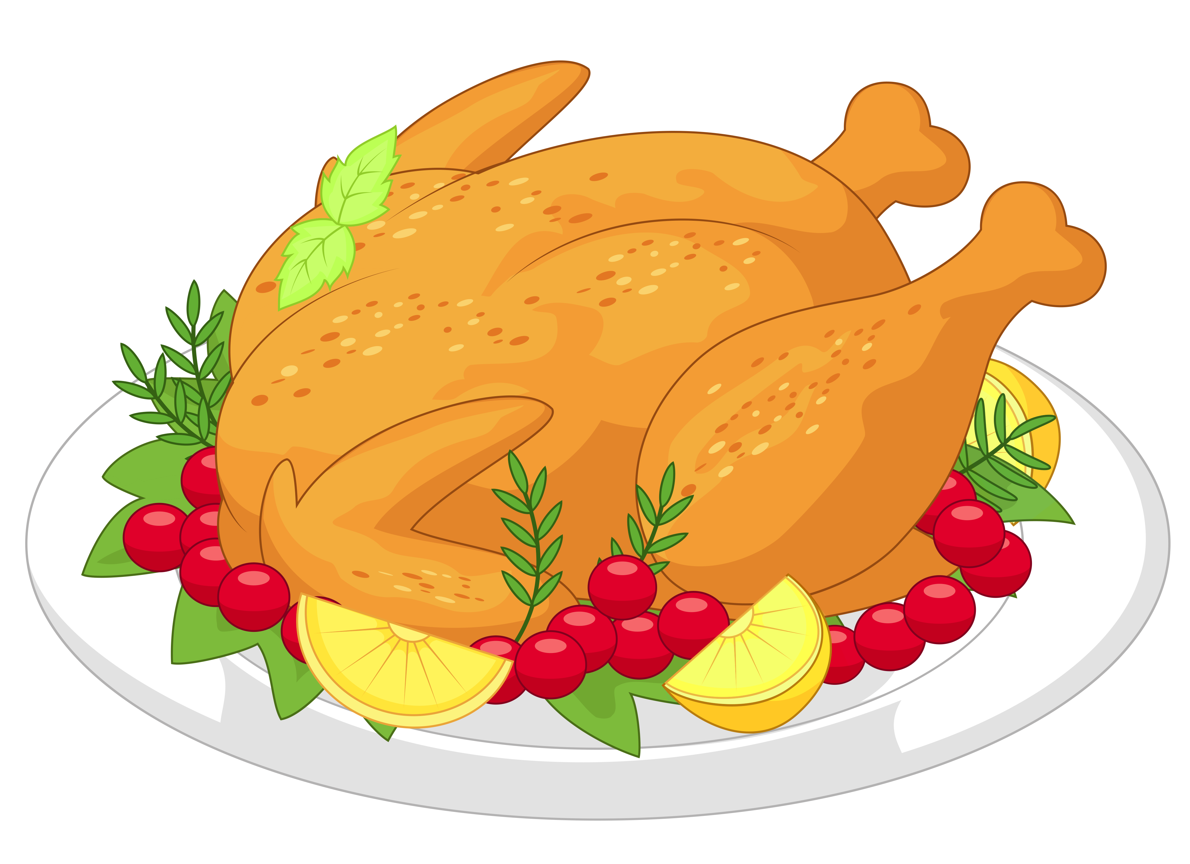 Thanksgiving Turkey Diner PNG Clipart.