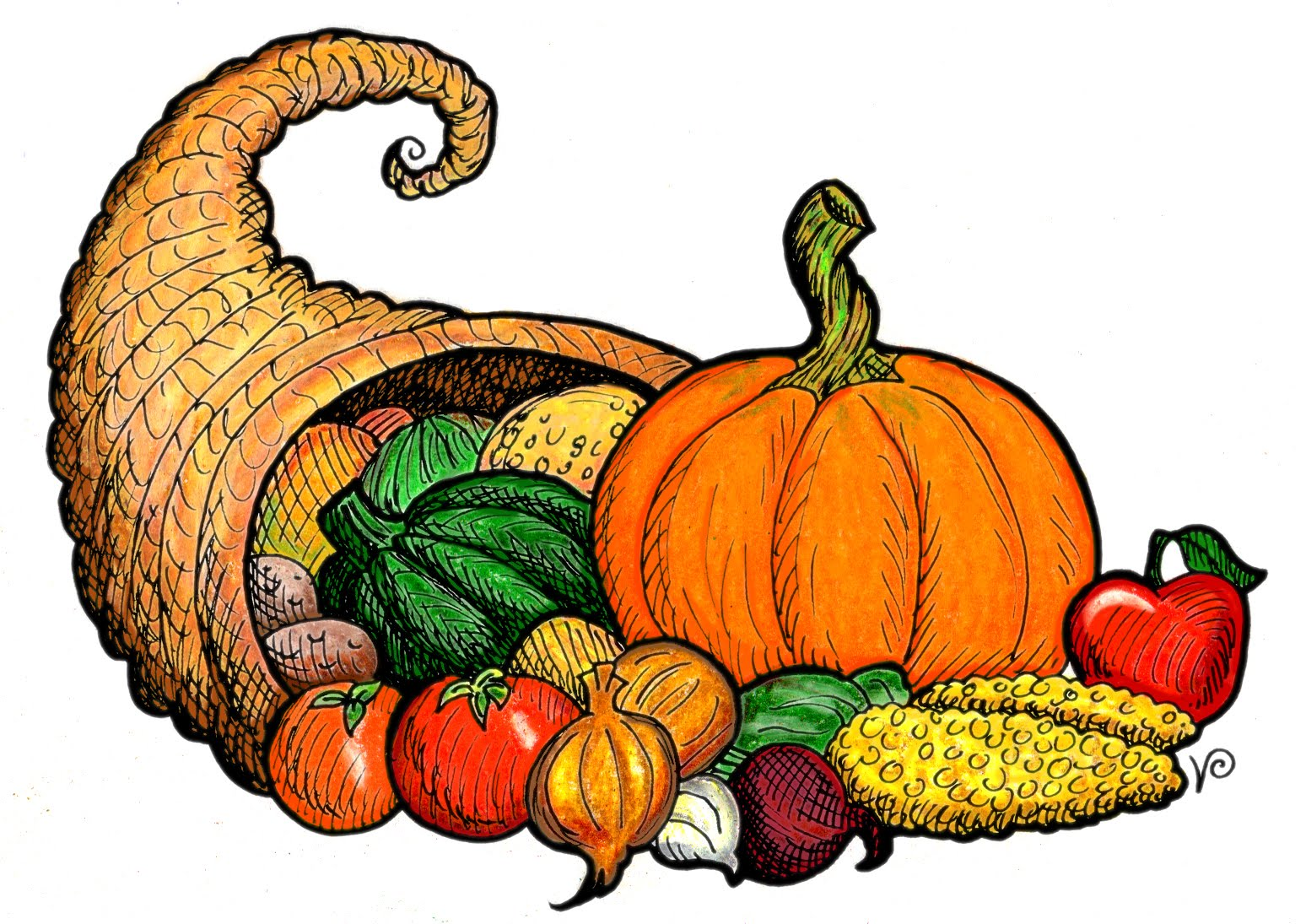 Free Thanksgiving Cornucopia Pictures, Download Free Clip.