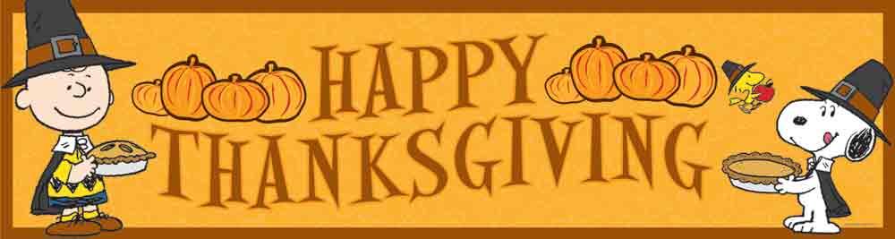 Happy Thanksgiving Header image.