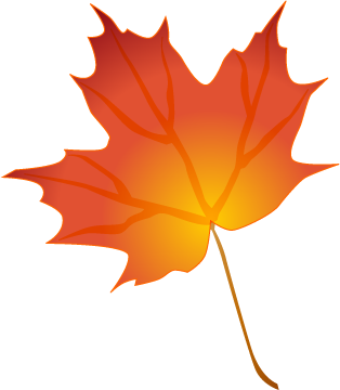 Thanksgiving Leaves Clipart.