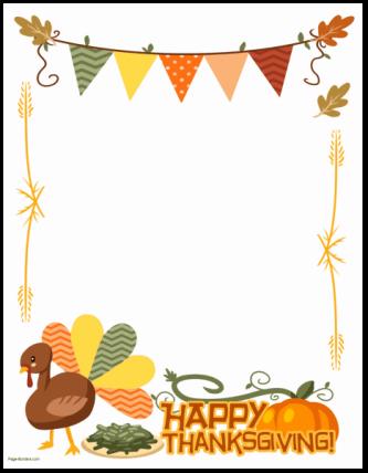 Form Happy Thanksgiving.