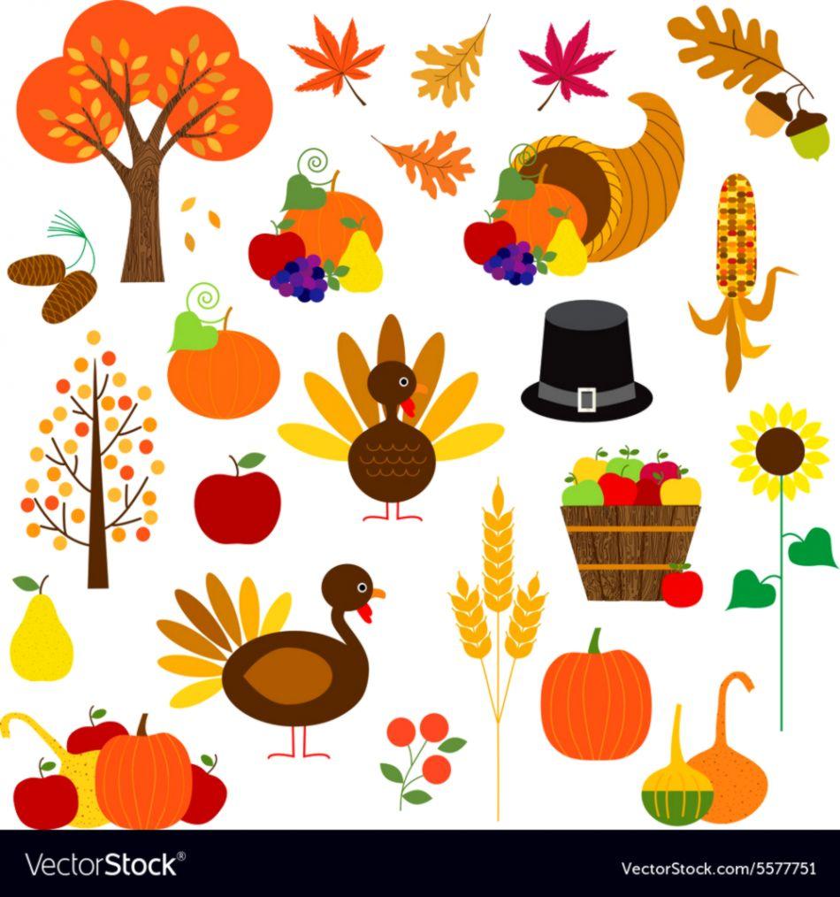 Thanksgiving Clip Art Images.