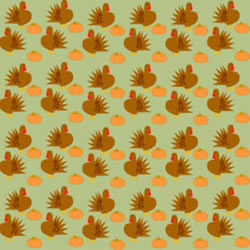 Thanksgiving Background Clip art, Turkeys and Pumpkins.