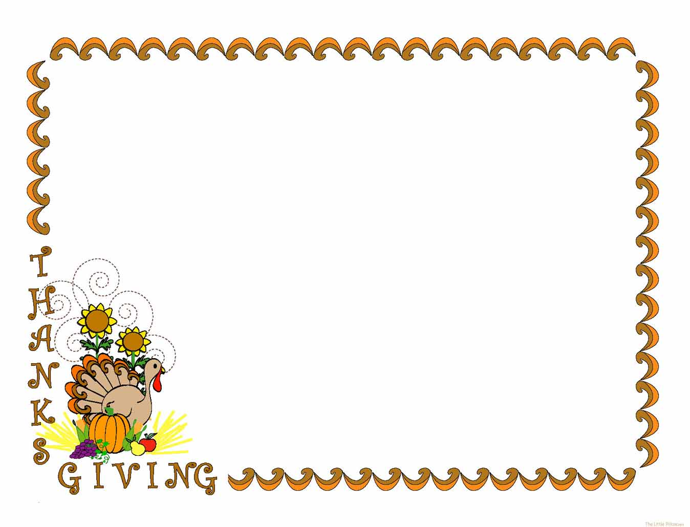 Free Thanksgiving Cliparts Borders, Download Free Clip Art.