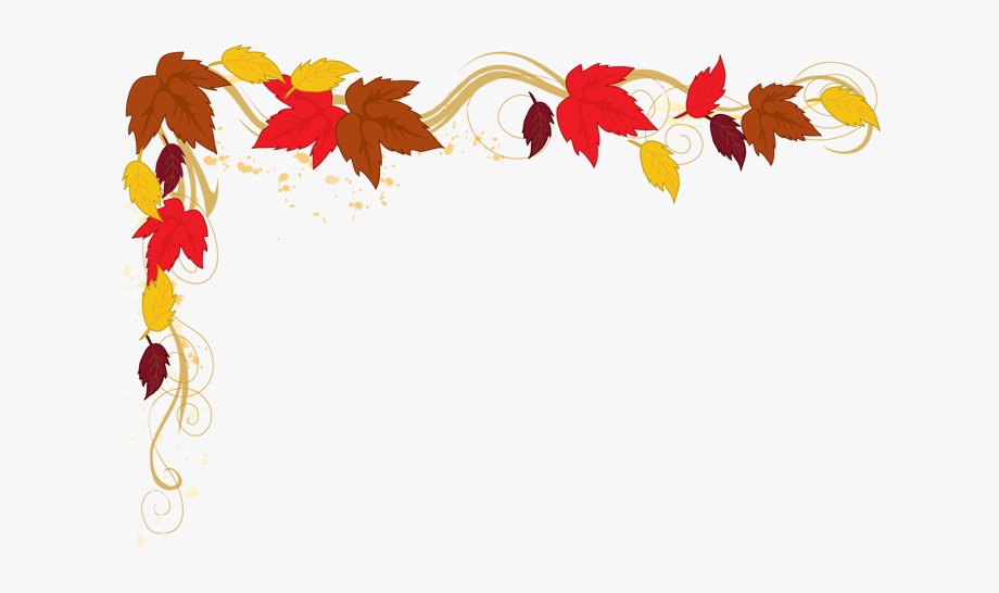 Image Library Stock Thanksgiving Clipart Borders.