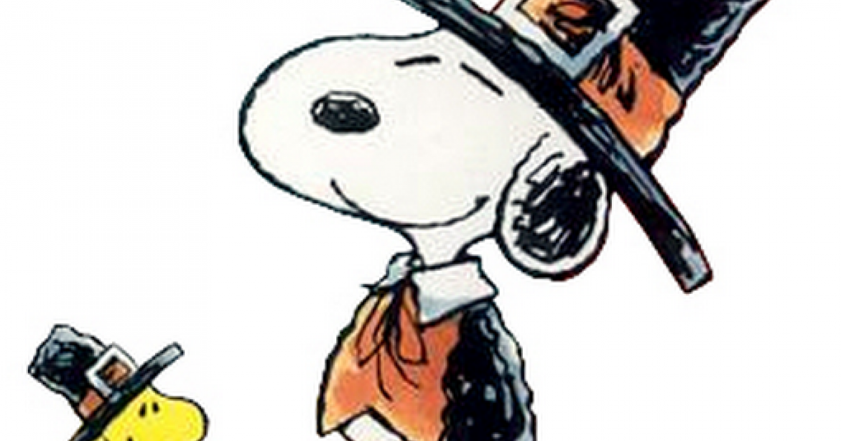 Charlie Brown Thanksgiving Clip Art (99+ images in.