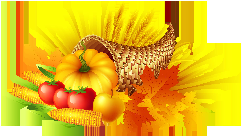 Thanksgiving Cornucopia Pumpkin pie Clip art.