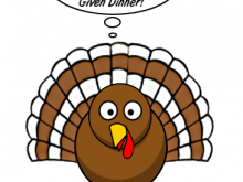 19717 Thanksgiving free clipart.