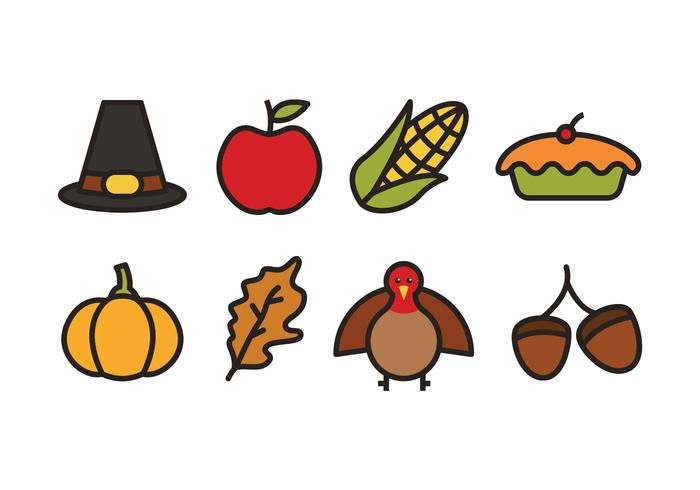 Thanksgiving Icons.