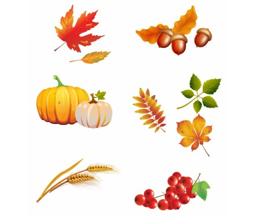 Thanksgiving Clipart and Autumn Vectors to Download Free.