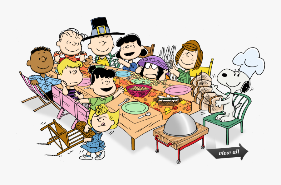 Happy Thanksgiving Peanuts , Free Transparent Clipart.