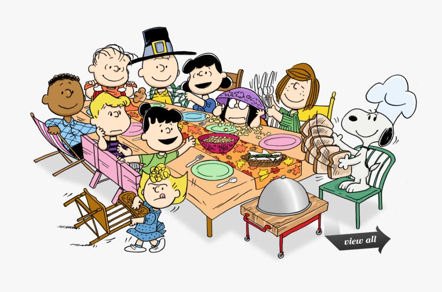 Happy Thanksgiving Peanuts , Free Transparent Clipart.