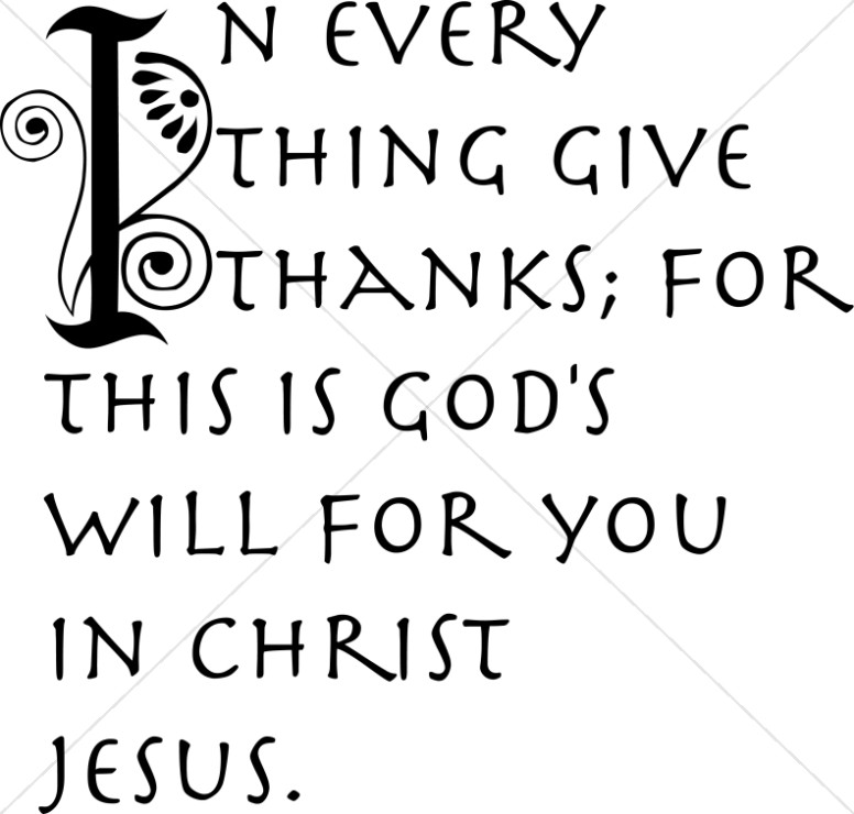 Religious Thanksgiving Clipart Black And White.