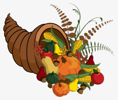 Free Cornucopia Clip Art with No Background.