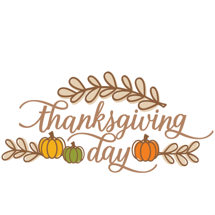 Thanksgiving Day SVG scrapbook cut file cute clipart files.