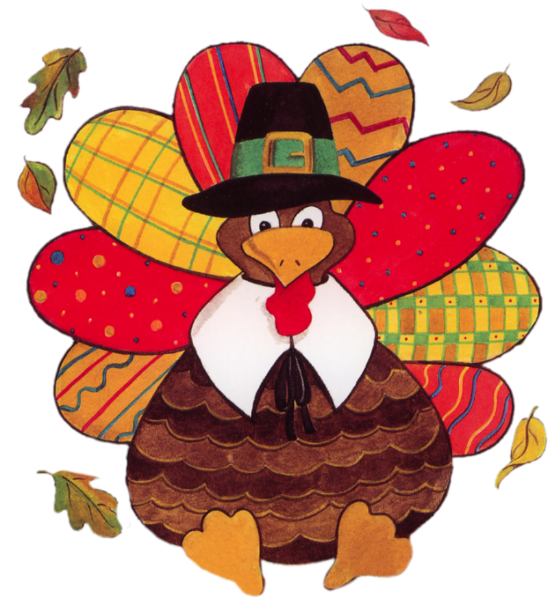 THANKSGIVING TURKEY CLIP ART.