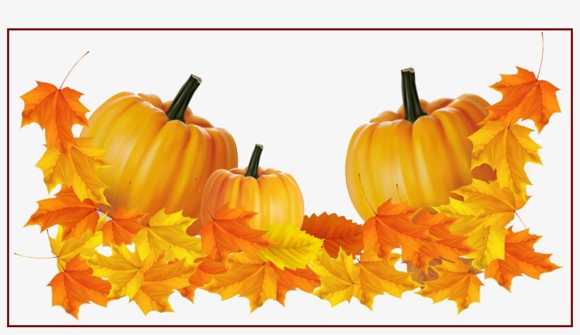 Incredible Transparent Thanksgiving Pumpkin Decor Clipart.