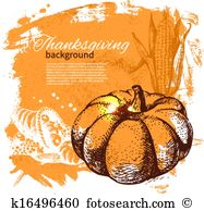 Thanksgiving dessert Clipart Vector Graphics. 587 thanksgiving.
