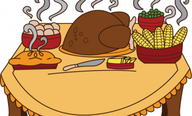Thanksgiving dinner clipart images clipartxtras.