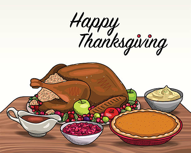 Thanksgiving meal clipart 2 » Clipart Station.