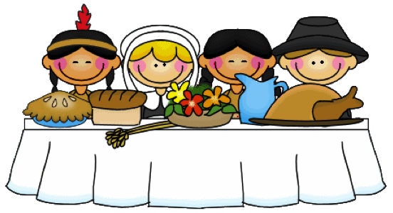 Clipart For Thanksgiving Dinner.