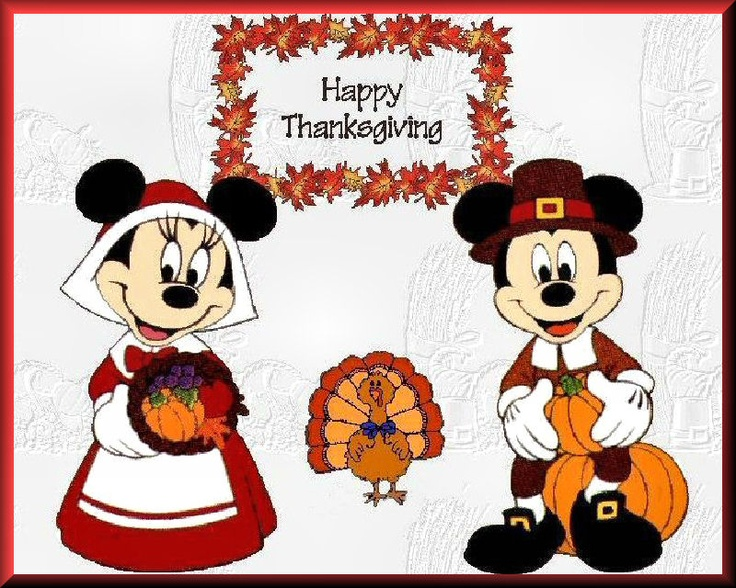 Disney Thanksgiving Clipart Free.