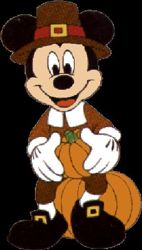 Happy Thanksgiving 2018 Disney Clipart.
