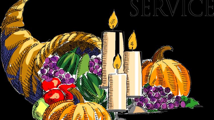 Thanksgiving clip art service.