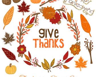 Fall Clipart Thanksgiving.