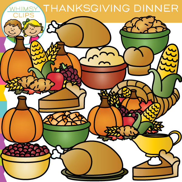Hand Drawn Picture Of Thanksgiving Dinner, Thanksgiving Food Free.