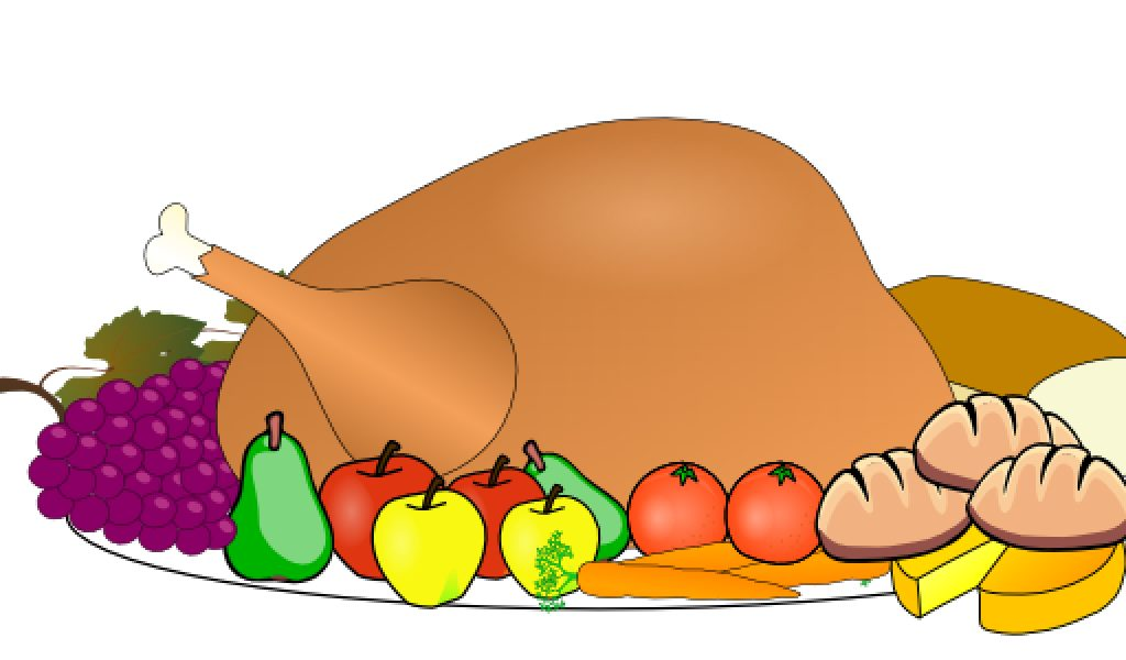 Thanksgiving Hand Food Clipart.