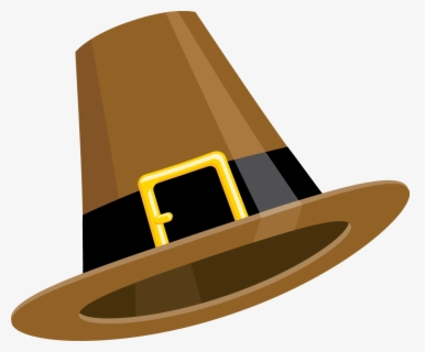 Free Pilgrim Hat Clip Art with No Background.