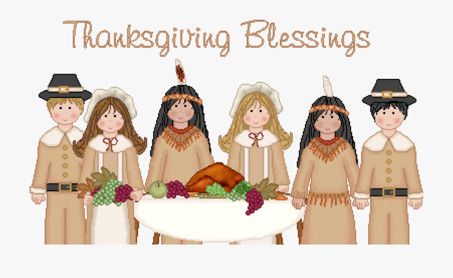 Free Clipart Thanksgiving Blessings.