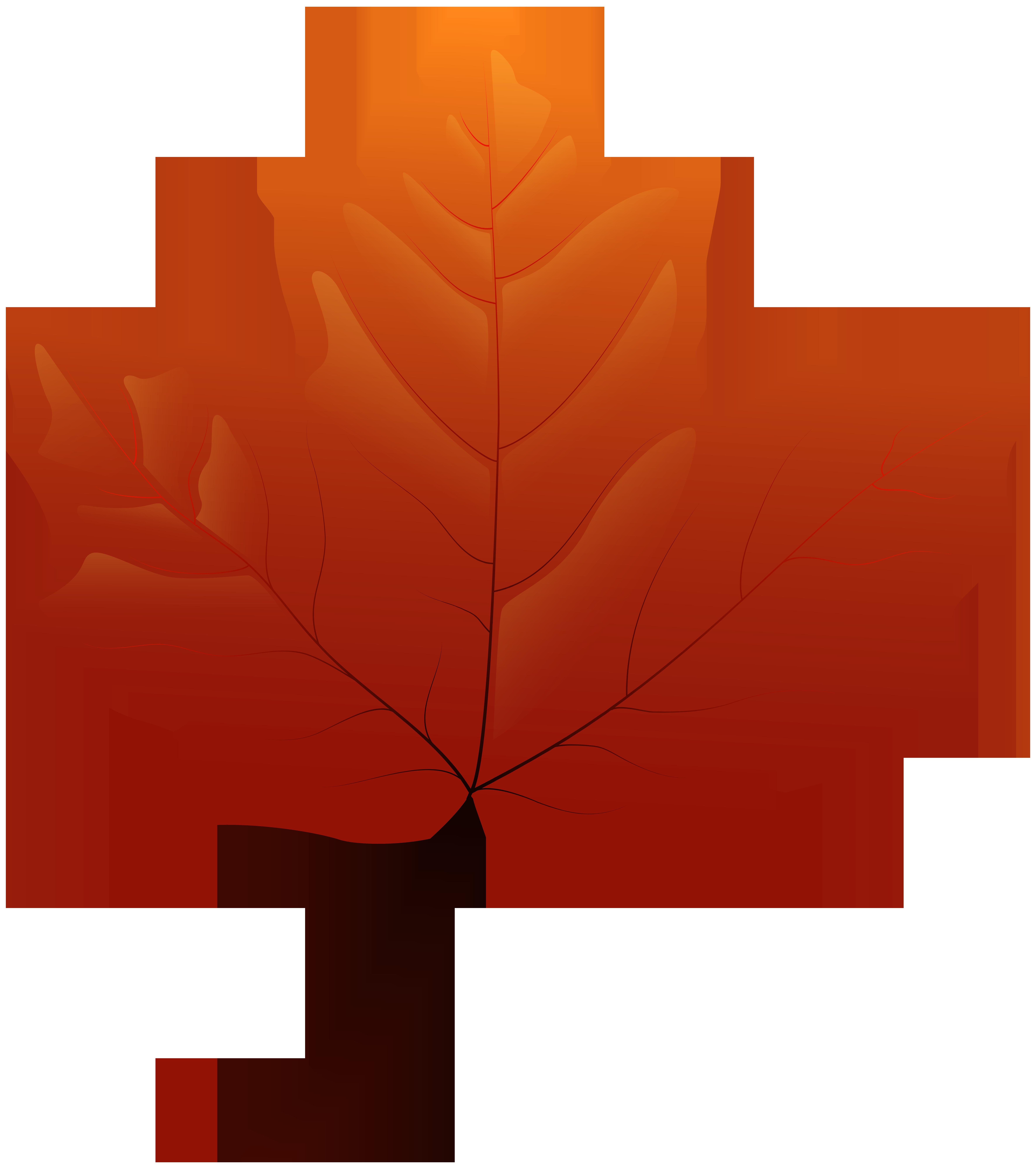 Autumn Leaf PNG Clip Art.