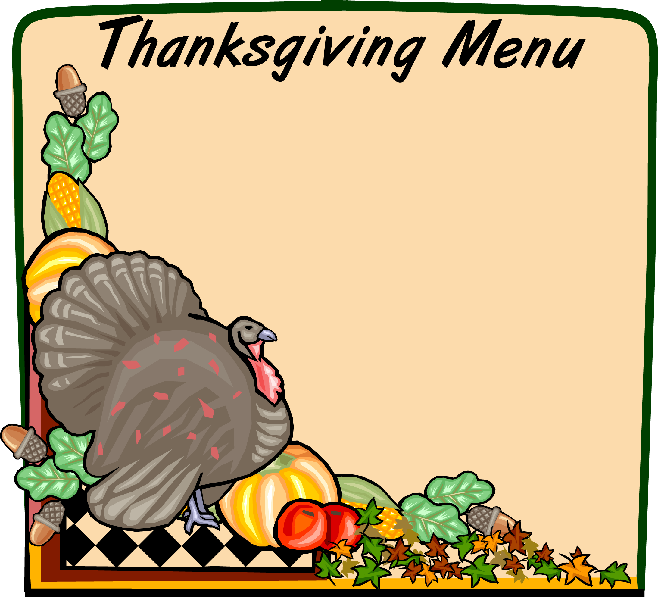 Free Thanksgiving Clipart Images.