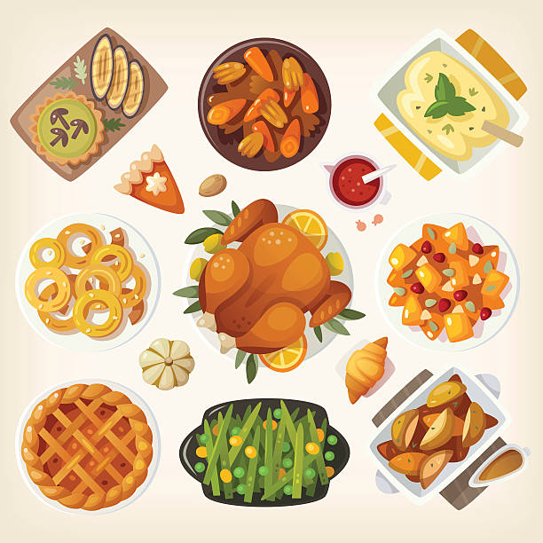 Thanksgiving Meal Clipart (94+ images in Collection) Page 2.