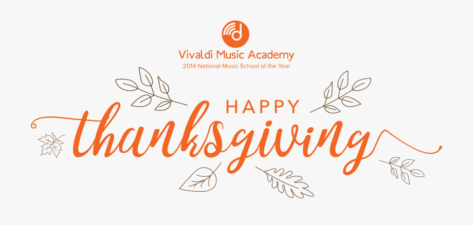 Vivaldi Music Academy Will Be Closed For Fall Recess.