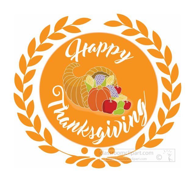 Thanksgiving Music Clipart.