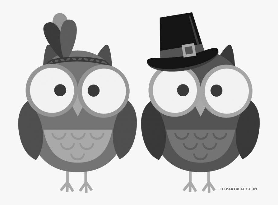 Thanksgiving Owl Clipart.